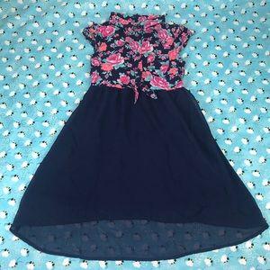 Girl Floral Dress 6-6x